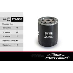 Фильтр масляный (Fortech) FO058