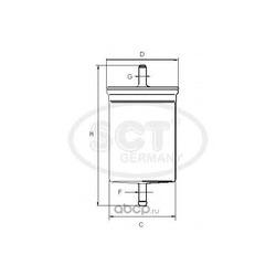 Топливный фильтр (SCT) ST352