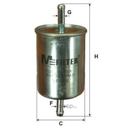 Фильтр топливный (M-Filter) BF305