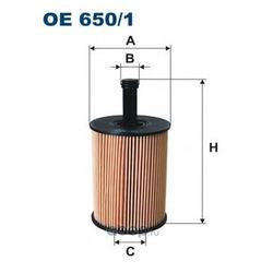 Фильтр масляный Filtron (Filtron) OE6501