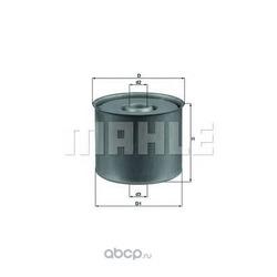Топливный фильтр (Mahle/Knecht) KX23