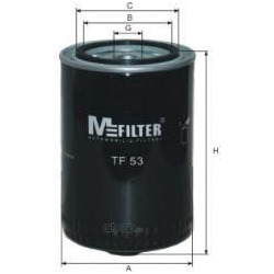 Фильтр масляный (M-Filter) TF53