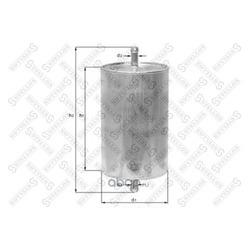 Топливный фильтр (Stellox) 2100079SX