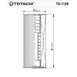 Масляный фильтр (TOTACHI) TO1128