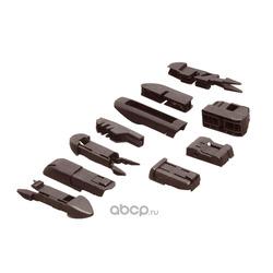 Щетка стеклоочистителя универсальная бескаркасная 600mm,10 адаптеров (PILENGA) WUP1600