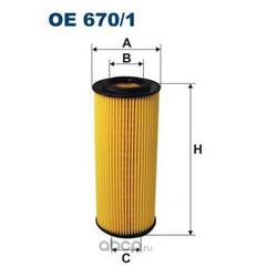Фильтр масляный Filtron (Filtron) OE6701