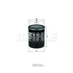 Масляный фильтр (Mahle/Knecht) OC217