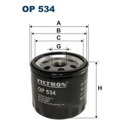 Фильтр масляный Filtron (Filtron) OP534