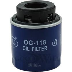 Фильтр масляный двигателя (Goodwill) OG118