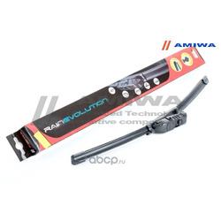 Щётка стеклоочистителя бескаркасная 370мм (Amiwa) AWB15