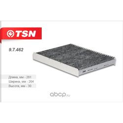 Фильтр салона угольный (TSN) 97462