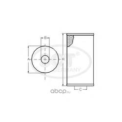 Масляный фильтр (SCT) SH4049P