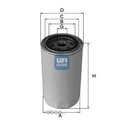 Масляный фильтр (UFI) 2329100