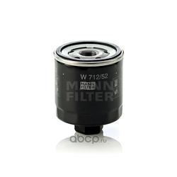 Фильтр масляный (MANN-FILTER) W71252