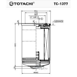Масляный фильтр (TOTACHI) TC1377