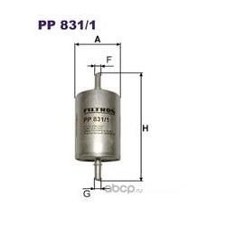 Фильтр топливный Filtron (Filtron) PP8311