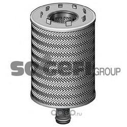Фильтр масляный двигателя (PURFLUX) L267D