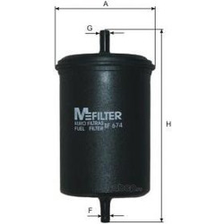Фильтр топливный (M-Filter) BF674