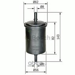 Фильтр топливный Bosch (Bosch) 0450902161