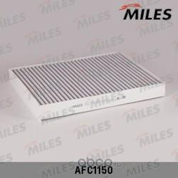 Фильтр салона AUDI Q7/VW T5/TOUAREG/PORSCHE CAYENNE угольный (Miles) AFC1150