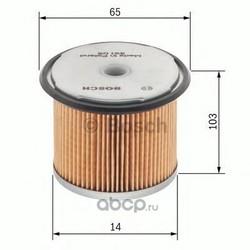 Топливный фильтр (Bosch) 1457429289