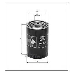 Масляный фильтр (Mahle/Knecht) OC264