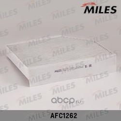 Фильтр салона AUDI A4 07- угольный (Miles) AFC1262