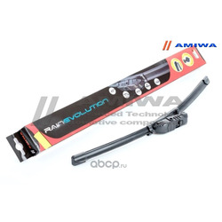 Щётка стеклоочистителя бескаркасная 450мм (Amiwa) AWB18