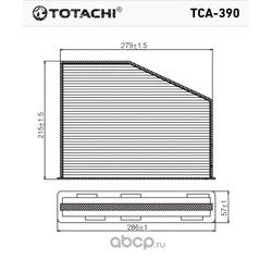 Фильтр салона (TOTACHI) TCA390