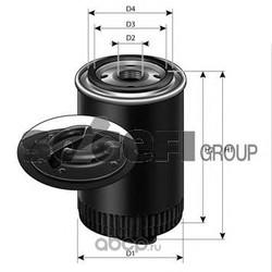Фильтр масляный двигателя (PURFLUX) LS553D