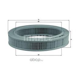 Воздушный фильтр (Mahle/Knecht) LX203