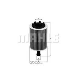 Масляный фильтр (Mahle/Knecht) OX188D