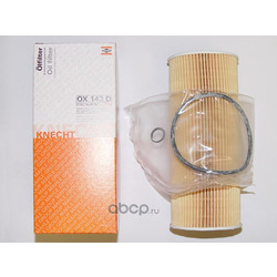 Масляный фильтр (Mahle/Knecht) OX143D