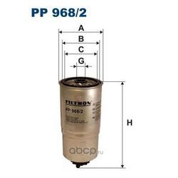 Фильтр топливный Filtron (Filtron) PP9682