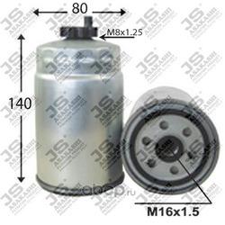 Фильтр топливный (JS Asakashi) FC0005
