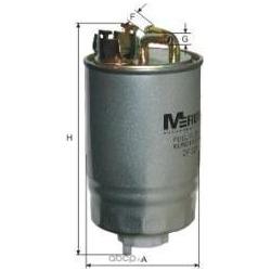 Фильтр топливный (M-Filter) DF327