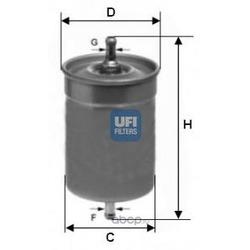Топливный фильтр (UFI) 3150000
