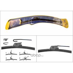 Щетка стеклоочистителя бескаркасная (HOLA) HF22