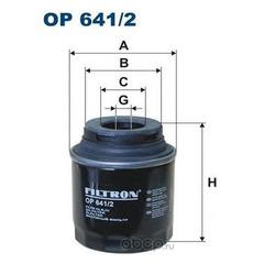 Фильтр масляный Filtron (Filtron) OP6412