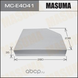 Фильтр салонный (Masuma) MCE4041