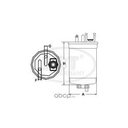 Топливный фильтр (SCT) ST325