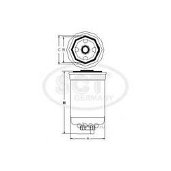 Топливный фильтр (SCT) ST6030