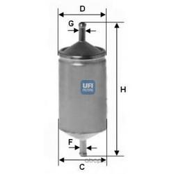 Топливный фильтр (UFI) 3150100