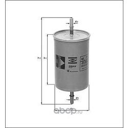 Топливный фильтр (Mahle/Knecht) KL573
