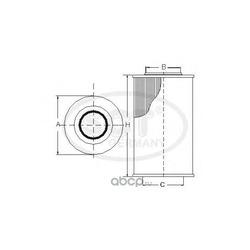 Топливный фильтр (SCT) SC7047