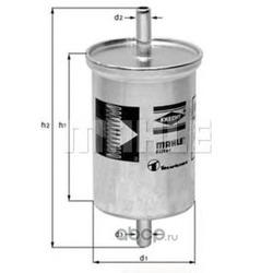 Фильтр топливный (Mahle/Knecht) KL2