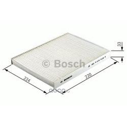 Фильтр, воздух во внутренном пространстве (Bosch) 1987432083