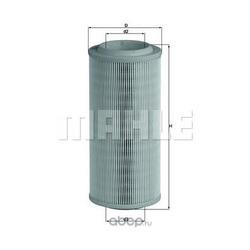 Воздушный фильтр (Mahle/Knecht) LX1595