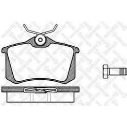 Комплект тормозных колодок, дисковый тормоз (Stellox) 274000BSX