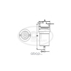 Топливный фильтр (SCT) ST326